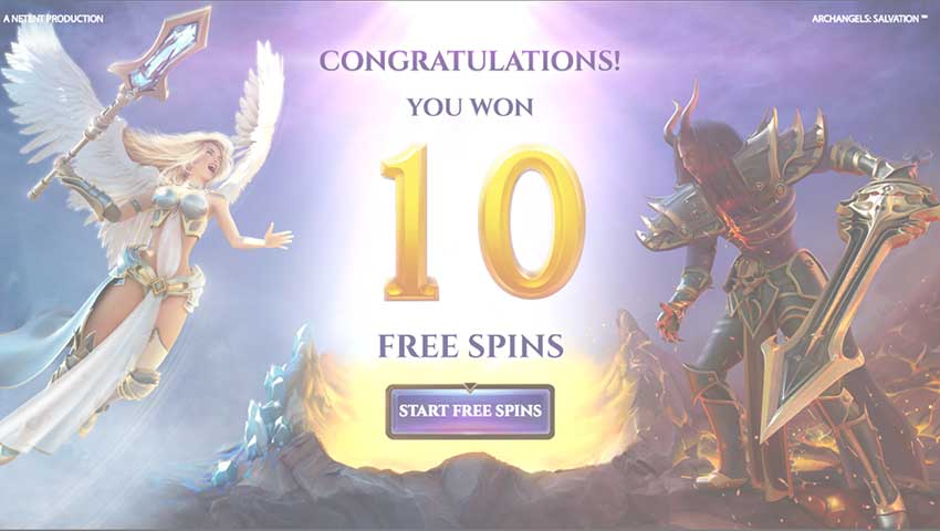 Archangels Salvationslot gratis