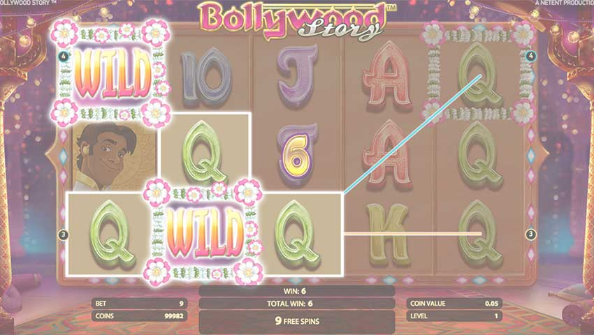 bollywood story slot gratis