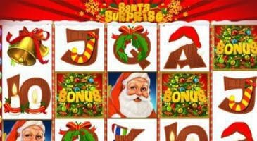 pacanele ca la aparate casino Santa Surprise