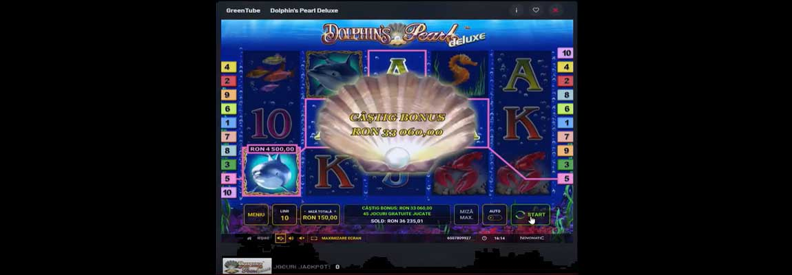 dolphin pearl deluxe bani reali maxbet online