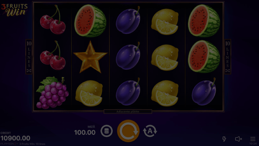 ecran 3 fruits win gratis