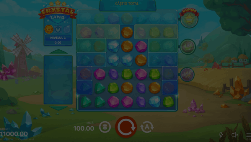 ecran crystal land gratis