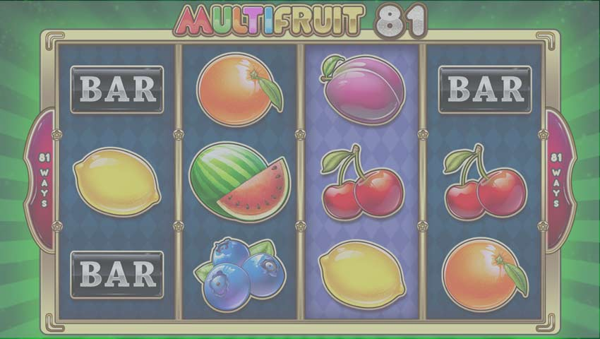 multi fruit gratis ecran