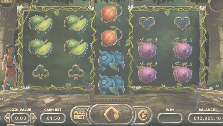 Jungle Books slot gratis