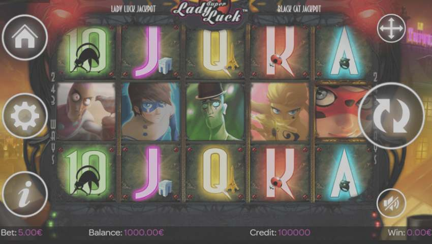 ecran joc super lady luck gratis
